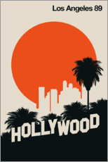 Premiumposter  Los Angeles 89 - Bo Lundberg