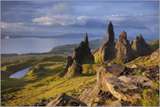 Canvastavla  Rock of the Old Man of Storr on the Isle of Skye, Scotland - Tobias Richter