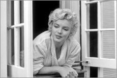 Akrylglastavla  Marilyn Monroe - window scene - Celebrity Collection