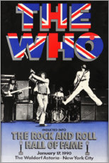 Premiumposter  The Who - Hall of Fame - Entertainment Collection