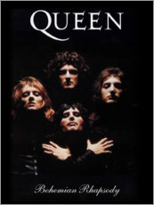 Självhäftande poster  Queen - Bohemian Rhapsody - Entertainment Collection