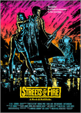 Poster Streets of Fire