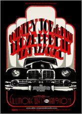 Premiumposter Led Zeppelin & Country Joe And The Fish