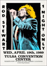 Poster Rod Steward - 1 night only