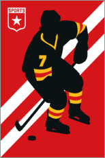 Poster Icehockey