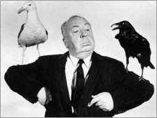 Premiumposter  Alfred Hitchcock, the birds