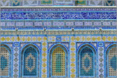 Premiumposter  Pattern of the Dome of the Rock I - HADYPHOTO