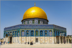 Premiumposter  Dome of the Rock on the Temple Mount - HADYPHOTO
