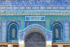 Premiumposter  Pattern of the Dome of the Rock II - HADYPHOTO
