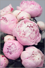 Canvastavla  Peonies in pink - Sisi And Seb