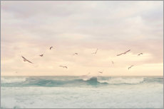 Premiumposter  Seagulls in the surf - Sisi And Seb