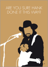 Premiumposter Waylon Jennings - Are You Sure Hank Done It This Way?