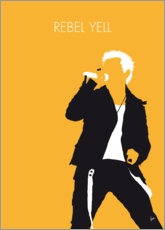 Premiumposter Billy Idol - Rebel Yell