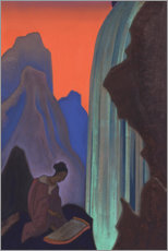 PVC-tavla  Song from the waterfall - Nicholas Roerich