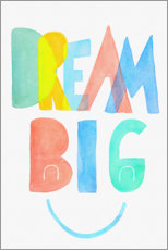 Premiumposter Dream big