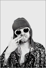 Premiumposter  Kurt Cobain - Celebrity Collection