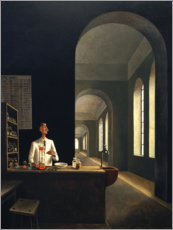 Canvastavla  The chemist - Franz Sedlacek