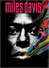 Premiumposter  Miles Davis - Tutu - Entertainment Collection