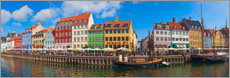 Premiumposter  Canal Panorama Nyhavn I