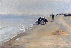 PVC-tavla  South beach at Skagen - Peder Severin Krøyer
