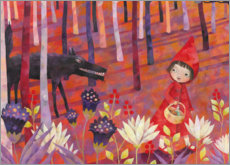 Premiumposter Little Red Riding Hood