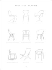 Poster Chair design classic