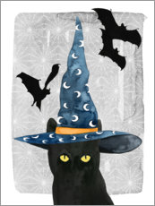 Premiumposter  Black cat II - Grace Popp