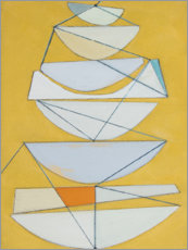 Premiumposter  Abstract sails II - Rob Delamater