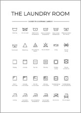 Poster Clothing labels