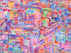 Galleritryck  Big City Feeling - Josh Byer