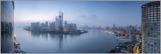 Premiumposter Skyline of Pudong