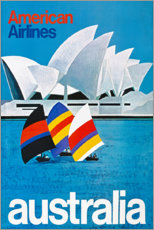 Canvastavla  Australia - Travel Collection