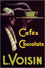 Premiumposter  Chocolate cafes (French) - Advertising Collection