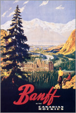 Premiumposter  Banff - Travel Collection