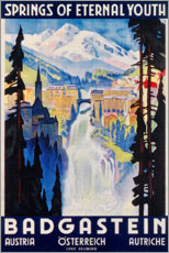 Premiumposter  Bad Gastein (English) - Travel Collection