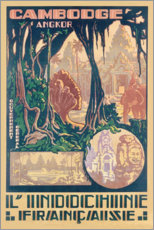Premiumposter  Angkor-Cambodia (French) - Travel Collection