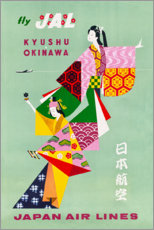 Canvastavla  Japan Air Lines - Travel Collection