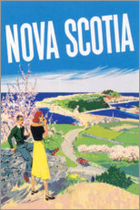 Trätavla  Nova Scotia - Travel Collection