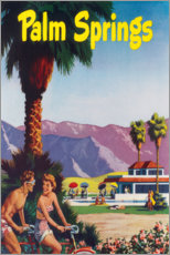 PVC-tavla  Palm Springs - Travel Collection