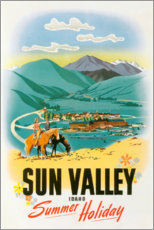 Poster  Sun Valley - Travel Collection