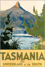 Poster  Tasmania, Switzerland of the South (English) - Travel Collection