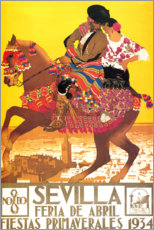 Premiumposter  Seville (spanish) - Travel Collection