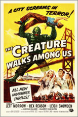 Premiumposter  The Creature Walks Among Us - Entertainment Collection