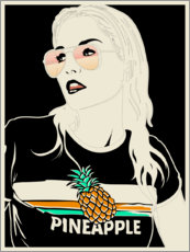 Premiumposter  Pineapple - dolceQ