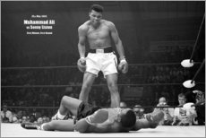 Akrylglastavla  Boxing legend Mohammed Ali - Celebrity Collection
