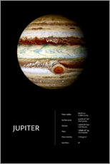 Canvastavla  Jupiter - Art Couture