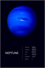 Premiumposter  Neptune (English) - Art Couture