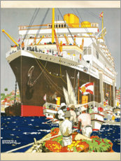 Premiumposter  South America, the Royal Mail Line - Kenneth Shoesmith