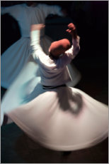 Premiumposter  Whirling dervishes while dancing - Keren Su