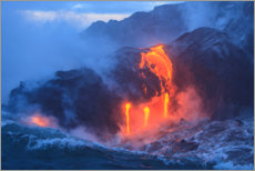 Canvastavla  Kilauea lava flow on Hawaii - Stuart Westmorland